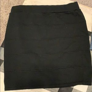 Charlotte Russe black skirt XL